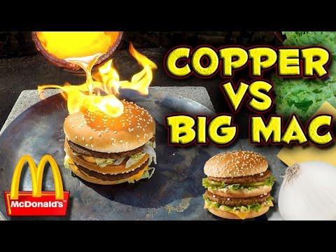 Flüssiges Kupfer VS Big Mac
