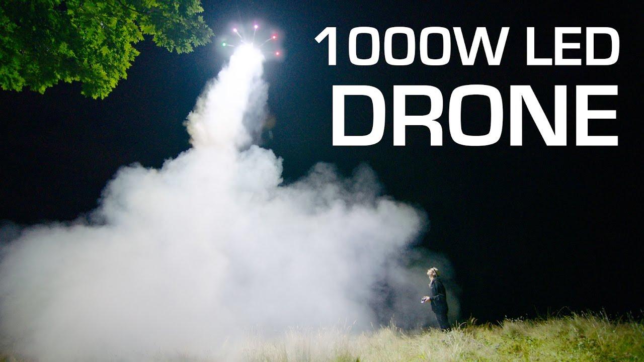 1000W LED Drohne